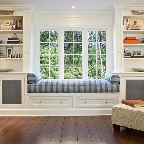 VIRGINIA RICHMOND BAY WINDOW SEAT CUSHION