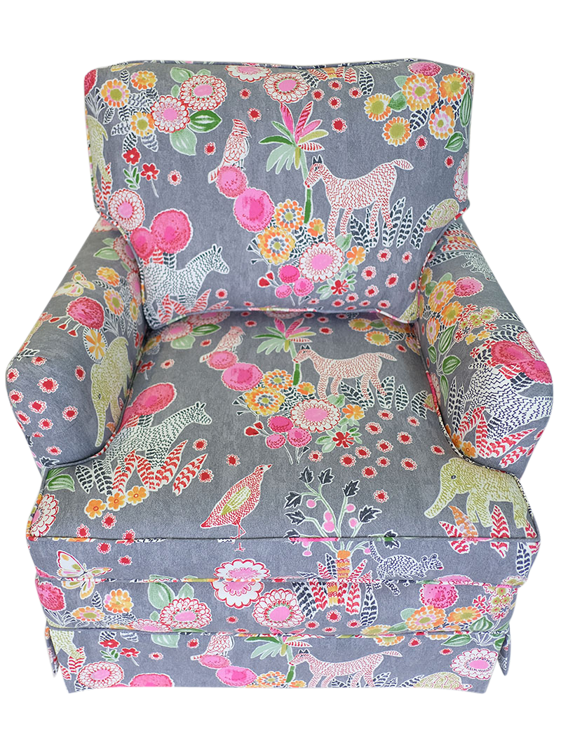 clubchair_animal gray